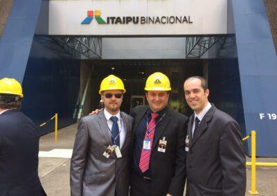 VISITA TÉCNICA ITAIPU BINACIONAL – LADO PARAGUAY 2015